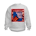 I Like BACON M T Y Kids Sweatshirt
