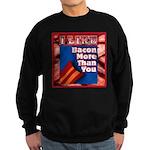 I Like BACON M T Y Sweatshirt (dark)