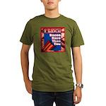 I Like BACON M T Y Organic Men's T-Shirt (dark)