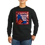 I Like BACON M T Y Long Sleeve Dark T-Shirt