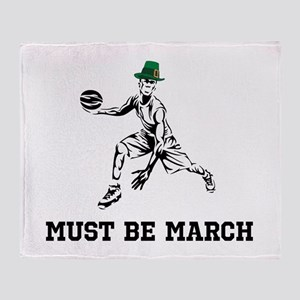 Must Be March Throw Blanket