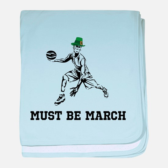 Must Be March baby blanket
