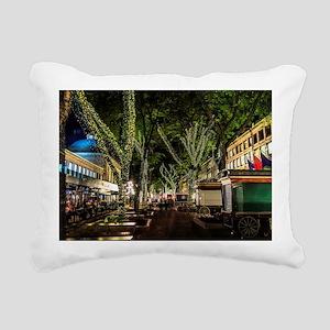 Ready for Christmas , Fa Rectangular Canvas Pillow