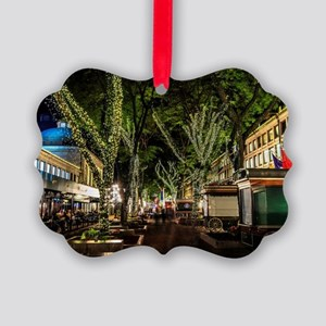 Ready for Christmas , Faneuil Hal Picture Ornament
