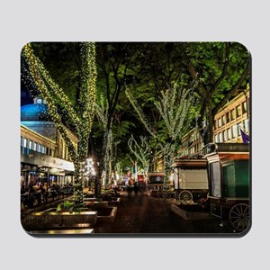 Ready for Christmas , Faneuil Hall, Bost Mousepad