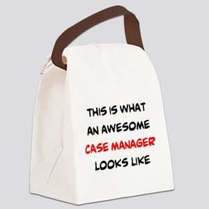 awesome case.manager Canvas Lunch Bag
