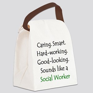 social worker sound Canvas Lunch Bag