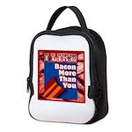 I Like BACON M T Y Neoprene Lunch Bag