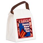 I Like BACON M T Y Canvas Lunch Bag