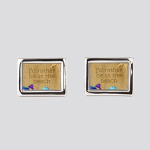 Rather be at Beach Cufflinks