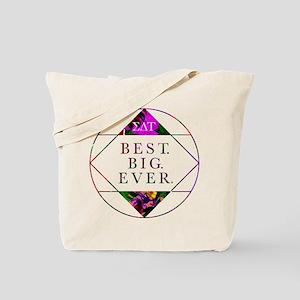 Sigma Delta Tau Best Big Tote Bag