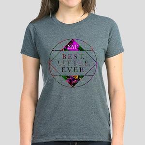 Sigma Delta Tau Best Little Women's Dark T-Shirt
