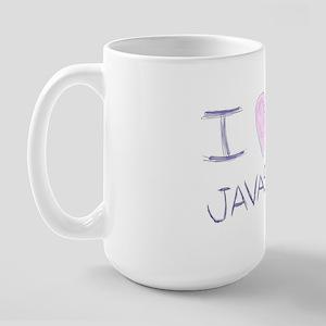 I heart javascript Mug