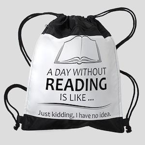 Gifts for Readers Drawstring Bag 224b01f0973b7
