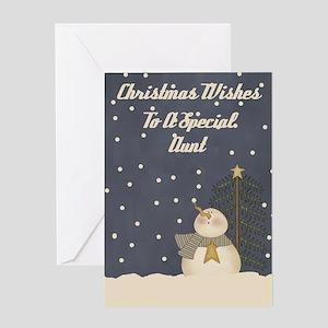 Aunt Christmas Card