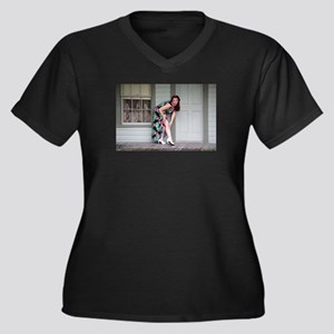 Run in the Stockings Plus Size T-Shirt