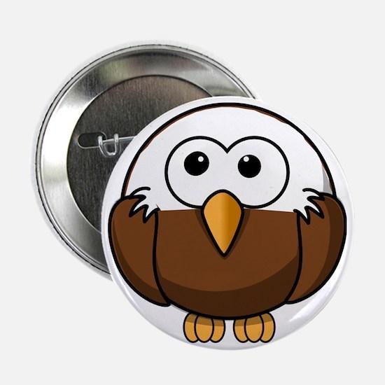 """Bald Eagle 2.25"""" Button"""