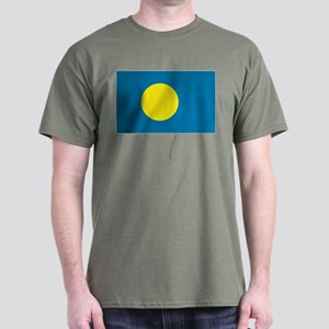 Palauan flag Dark T-Shirt