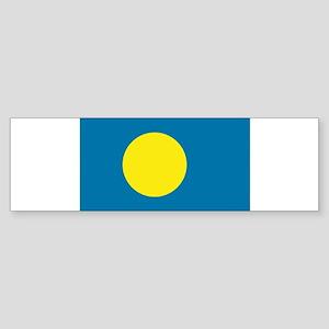 Palauan flag Bumper Sticker