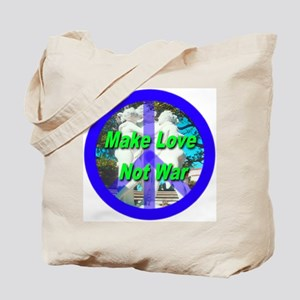Help promote world peace with Tote Bag