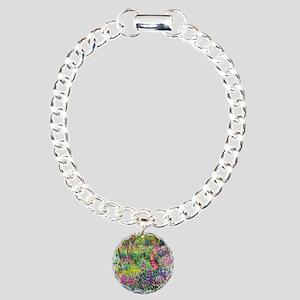 The Iris Garden by Claud Charm Bracelet, One Charm