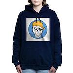 pirate skull colored copy.jpg Hooded Sweatshirt