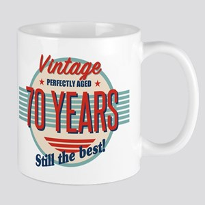 Funny 70th Birthday Old Fashioned Mugs