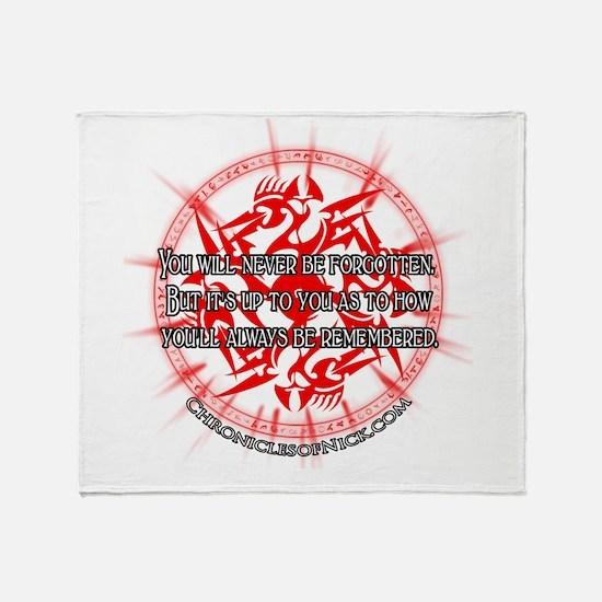 CON Throw Blanket