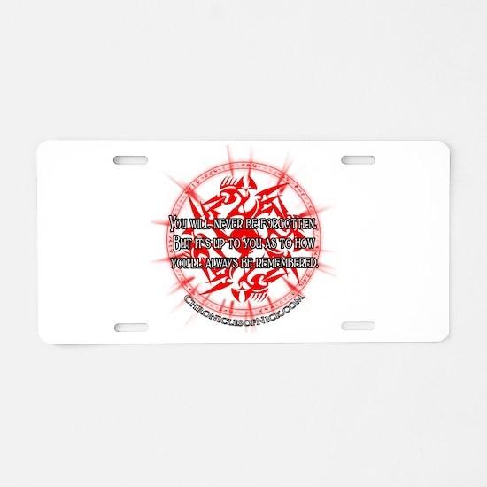 CON Aluminum License Plate