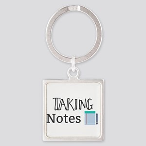 Taking Notes Keychains