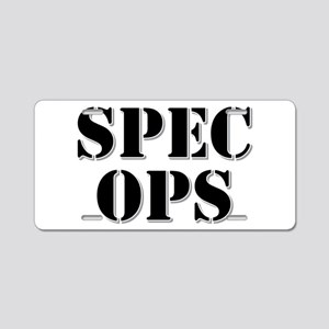 SPEC OPS Aluminum License Plate