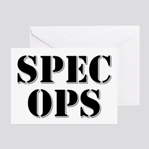 SPEC OPS Greeting Cards