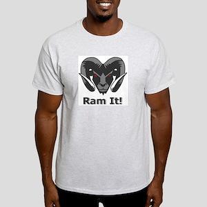 Grey Ram It Head T-Shirt