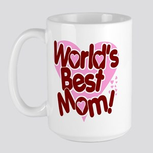 World's BEST Mom! Large Mug