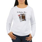 Jack King Off Women's Long Sleeve T-Shirt