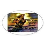 Scottish Army Sticker