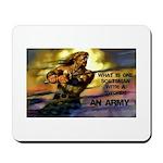 Scottish Army Mousepad