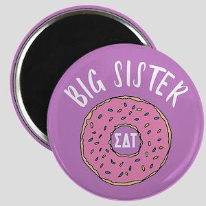 Sigma Delta Tau Big Donut Magnet