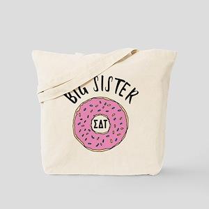 Sigma Delta Tau Big Donut Tote Bag
