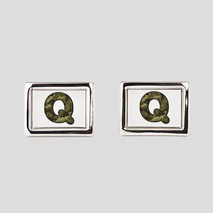 Q Army Cufflinks