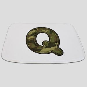 Q Army Bathmat