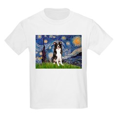 Starry Night Border Collie T-Shirt