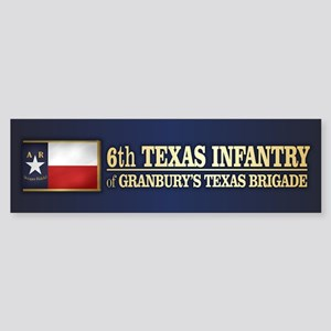 6th Texas Infantry (BH2) Bumper Sticker