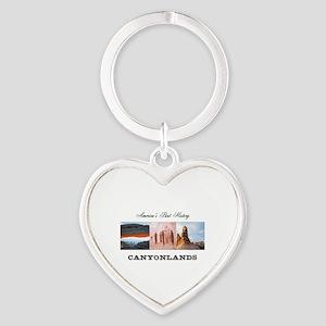 ABH Canyonlands Heart Keychain