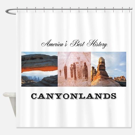 ABH Canyonlands Shower Curtain