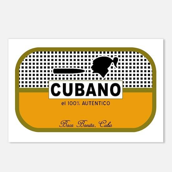 CUBANO el 100% Autentico Alternate Postcards (Pack