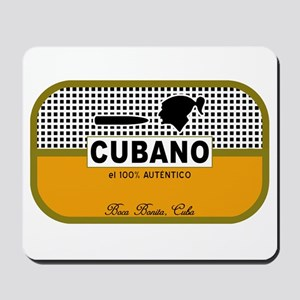 CUBANO el 100% Autentico Alternate Mousepad