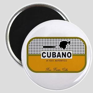 CUBANO el 100% Autentico Alternate Magnet