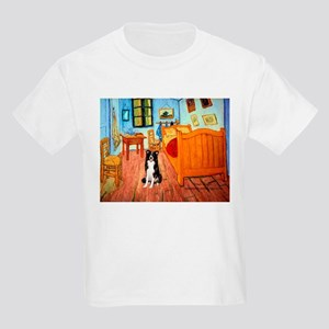 Room with Border Collie Kids Light T-Shirt