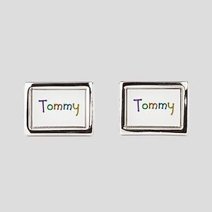 Tommy Play Clay Cufflinks